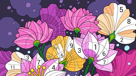 Happy Color – раскраска по номерам для Андроид - Скачать APK