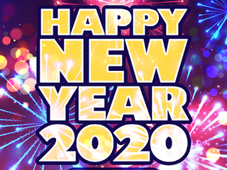 Happy New Year 2020 Cards GIF APK